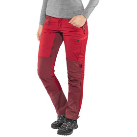Lundhags Makke Pants Women Regular Red/Dark Red